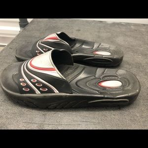 90becd3306ee Crendene men s Flip-Flops Slide On Sandals Size 10